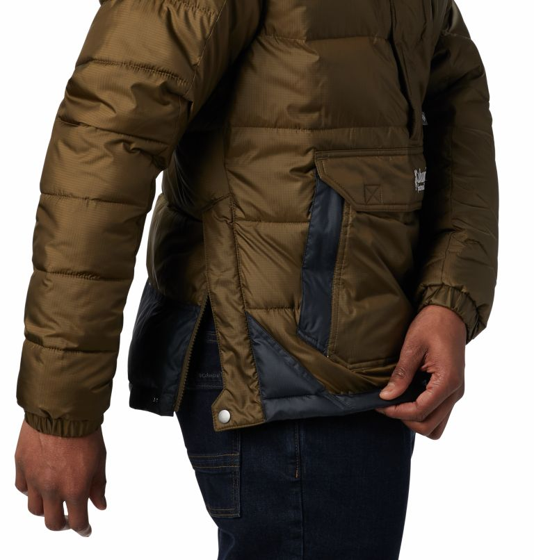 Columbia Lodge™ Pullover Jacke | 319 | L Veste À Enfiler Columbia Lodge Homme, Olive Green, Black, a4