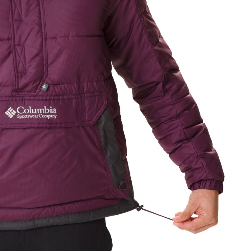Columbia Lodge™ Pullover Jacke | 522 | XXL Men's Columbia Lodge Pullover Jacket, Black Cherry, Shark, a2