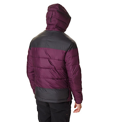 Men's Columbia Lodge Pullover Jacket Columbia Lodge™ Pullover Jacke | 010 | L, Black Cherry, Shark, back