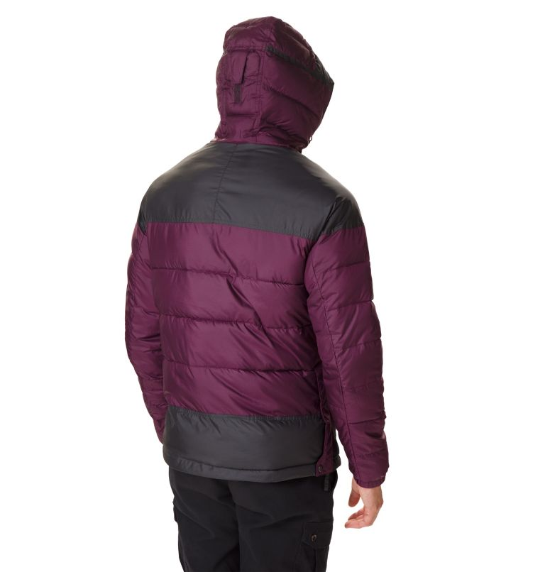 Columbia Lodge™ Pullover Jacke | 522 | XXL Men's Columbia Lodge Pullover Jacket, Black Cherry, Shark, back