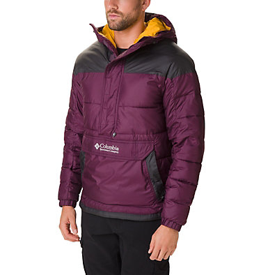 Men's Columbia Lodge Pullover Jacket Columbia Lodge™ Pullover Jacke | 010 | L, Black Cherry, Shark, front