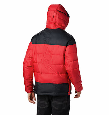 Men's Columbia Lodge Pullover Jacket Columbia Lodge™ Pullover Jacke | 010 | L, Mountain Red, Black, back