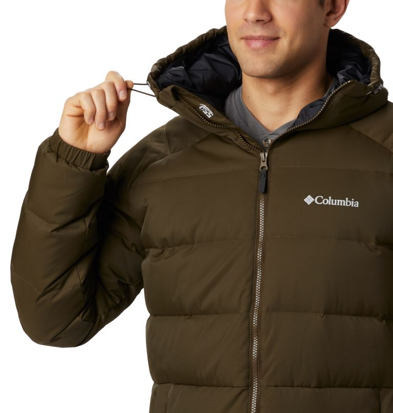 Macleay™ Down Long Jacket | 319 | XL Men's Macleay™ Down Long Jacket, Olive Green, a1