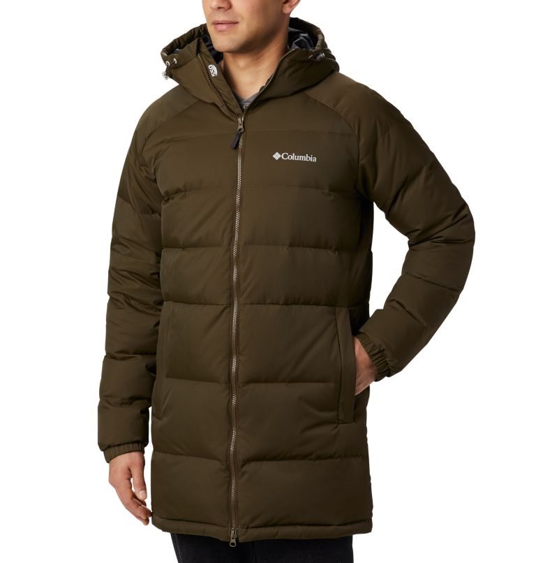 Macleay™ Down Long Jacket | 319 | XL Men's Macleay™ Down Long Jacket, Olive Green, a2