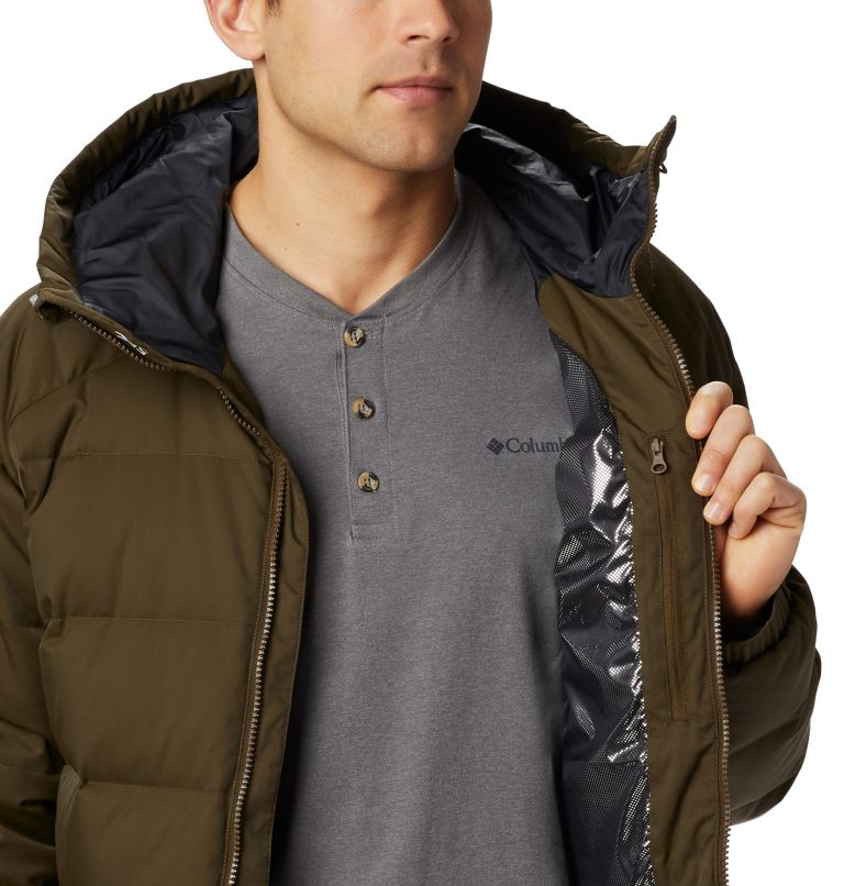 Macleay™ Down Long Jacket | 319 | XL Men's Macleay™ Down Long Jacket, Olive Green, a3