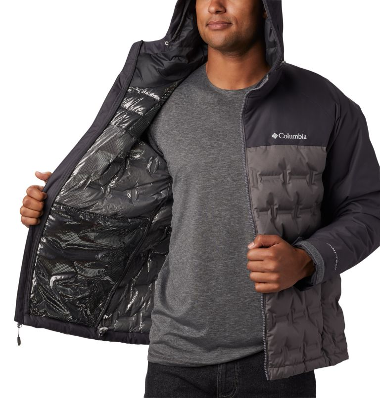 Grand Trek™ Down Jacket | 023 | S Men's Grand Trek™ Down Jacket, City Grey, Shark, a1