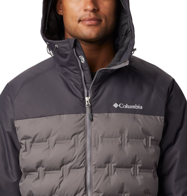 Grand Trek™ Down Jacket | 023 | S Men's Grand Trek™ Down Jacket, City Grey, Shark, a2