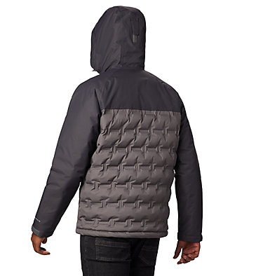 Men's Grand Trek™ Down Jacket Grand Trek™ Down Jacket | 010 | L, City Grey, Shark, back