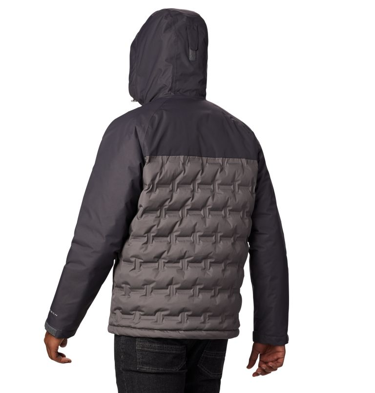 Grand Trek™ Down Jacket | 023 | S Men's Grand Trek™ Down Jacket, City Grey, Shark, back