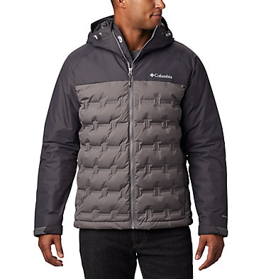 Men's Grand Trek™ Down Jacket Grand Trek™ Down Jacket | 010 | L, City Grey, Shark, front