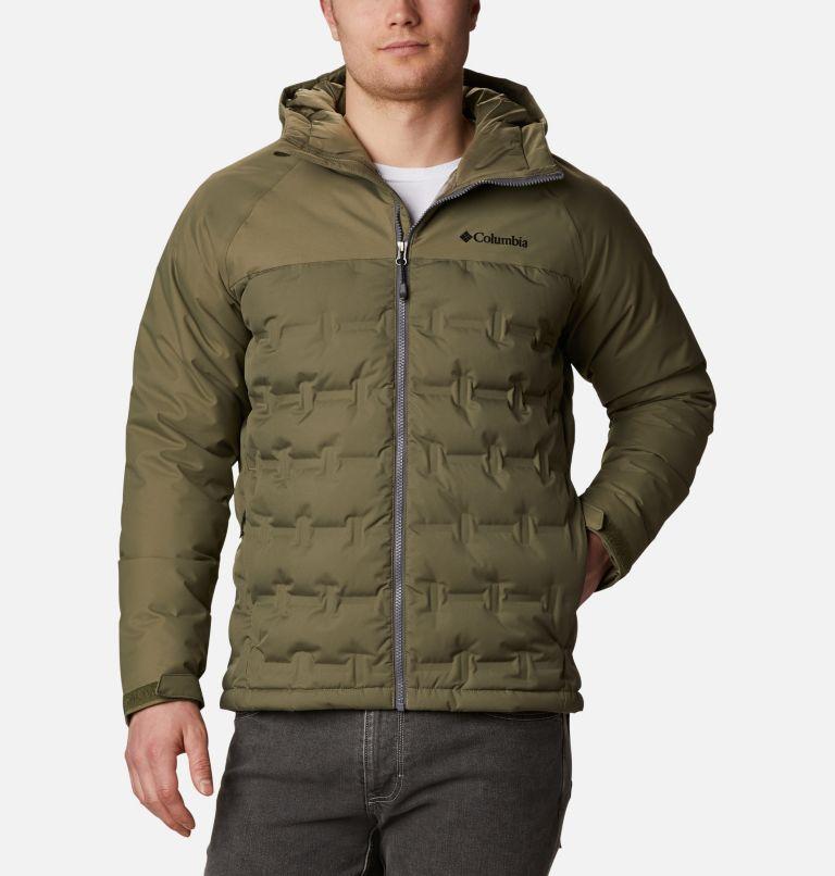 Grand Trek™ Down Jacket | 397 | M Men's Grand Trek™ Down Jacket, Stone Green, front