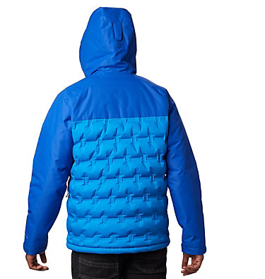 Men's Grand Trek™ Down Jacket Grand Trek™ Down Jacket | 010 | L, Azure Blue, Azul, back