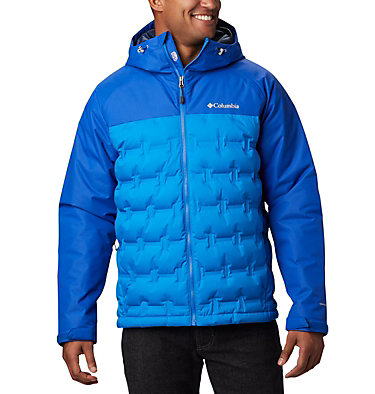 Men's Grand Trek™ Down Jacket Grand Trek™ Down Jacket | 010 | L, Azure Blue, Azul, front