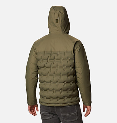 Chaqueta de plumón Grand Trek para hombre Grand Trek™ Down Jacket | 010 | L, Stone Green, back