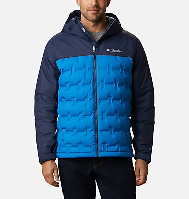 Chaqueta de plumón Grand Trek para hombre Grand Trek™ Down Jacket | 010 | L, Bright Indigo, Collegiate Navy, front