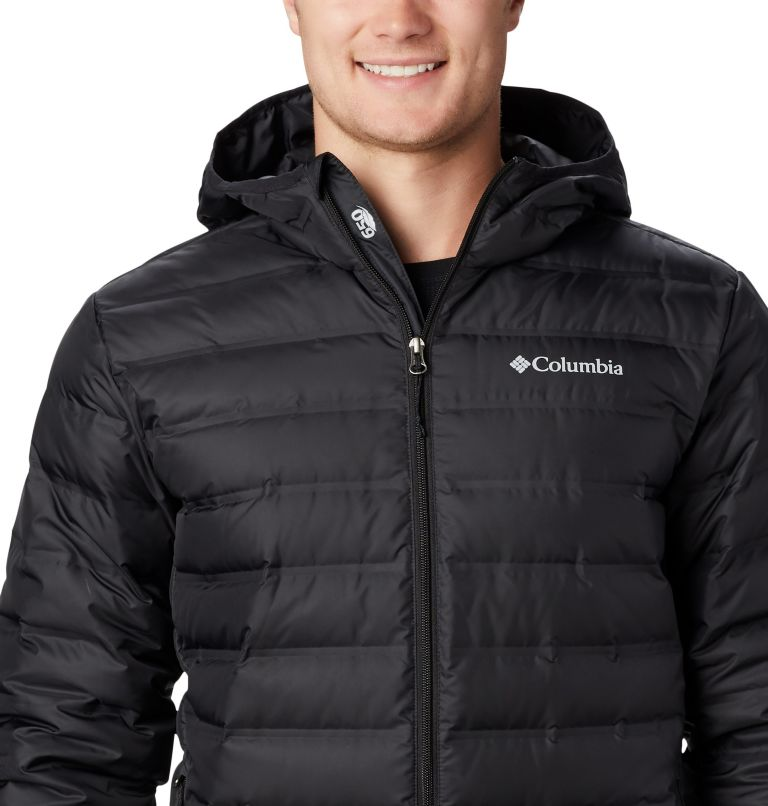 Lake 22™ Down Hooded Jacket | 010 | XL Men's Lake 22 Down Hooded Jacket, Black, a2