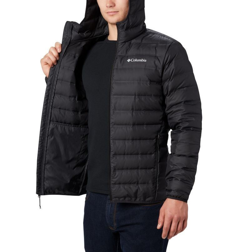 Lake 22™ Down Hooded Jacket | 010 | S Men's Lake 22 Down Hooded Jacket, Black, a3