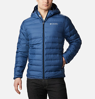 Lake 22 Daunenjacke mit Kapuze für Herren Lake 22™ Down Hooded Jacket | 010 | L, Night Tide, Collegiate Navy, front