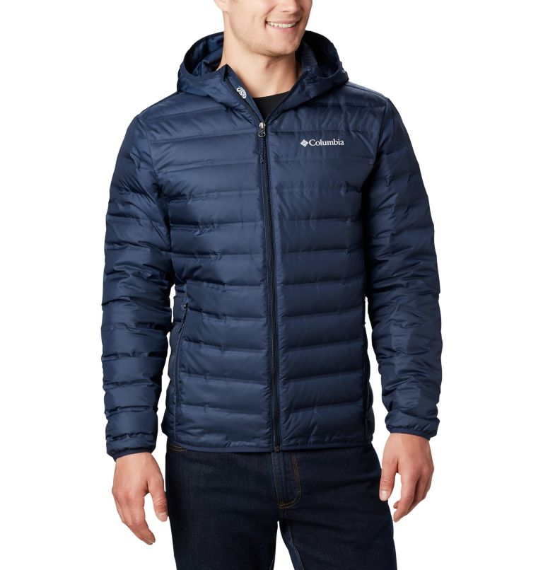 Lake 22™ Down Hooded Jacket | 464 | S Men's Lake 22 Down Hooded Jacket, Collegiate Navy, front