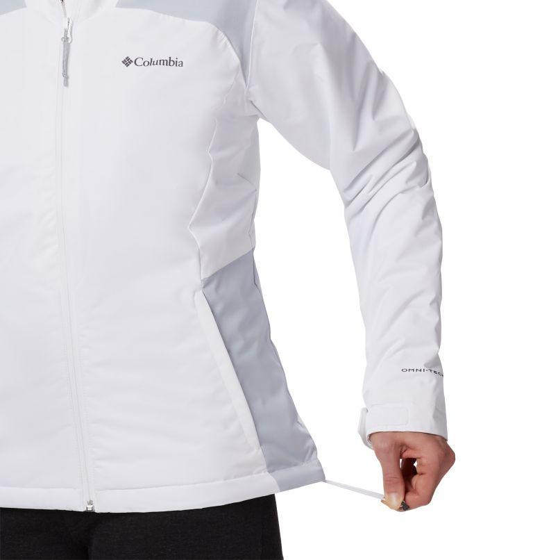 Tipton Peak™ Insulated Jacket | 100 | XXL Women's Tipton Peak™ Insulated Jacket, White, Cirrus Grey, a1