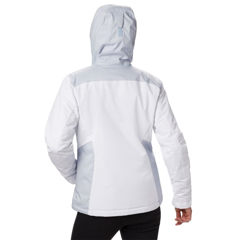 Tipton Peak™ Insulated Jacket | 100 | XXL Women's Tipton Peak™ Insulated Jacket, White, Cirrus Grey, back