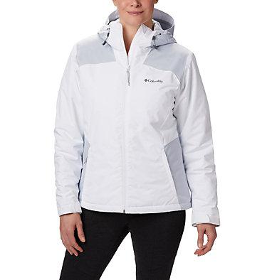 Tipton Peak™ Isolationsjacke für Frauen Tipton Peak™ Insulated Jacket | 463 | M, White, Cirrus Grey, front