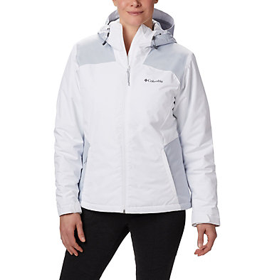 Women's Tipton Peak™ Insulated Jacket Tipton Peak™ Insulated Jacket | 463 | M, White, Cirrus Grey, front