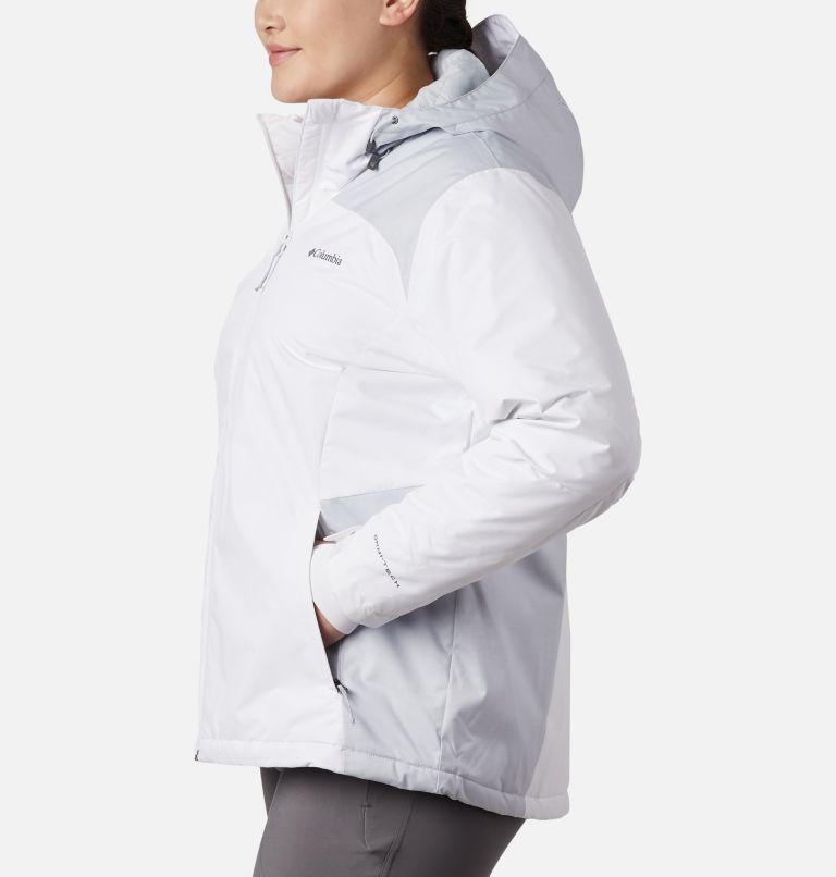Tipton Peak™ Insulated Jacket | 100 | 1X Women's Tipton Peak™ Insulated Jacket - Plus Size, White, Cirrus Grey, a1