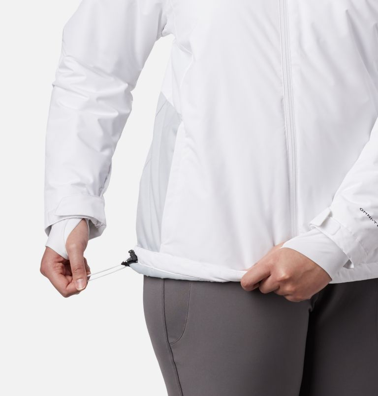 Tipton Peak™ Insulated Jacket | 100 | 1X Women's Tipton Peak™ Insulated Jacket - Plus Size, White, Cirrus Grey, a2