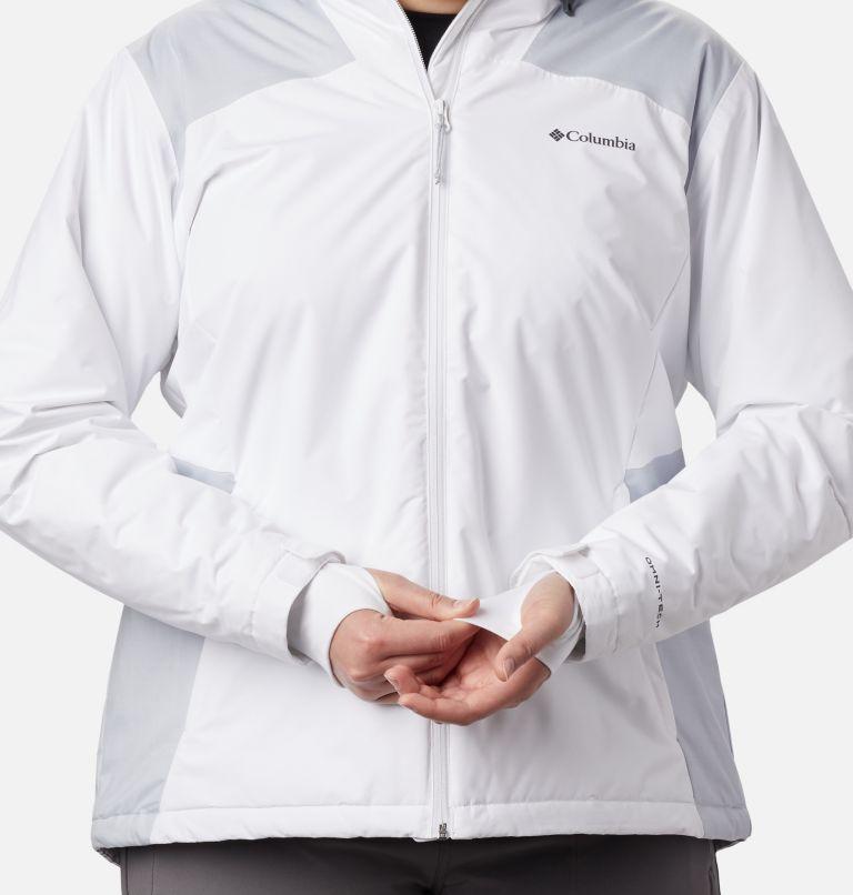 Tipton Peak™ Insulated Jacket | 100 | 1X Women's Tipton Peak™ Insulated Jacket - Plus Size, White, Cirrus Grey, a3