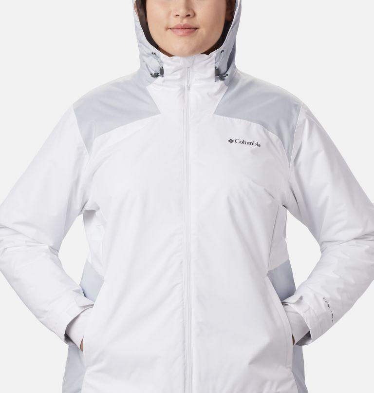 Tipton Peak™ Insulated Jacket | 100 | 1X Women's Tipton Peak™ Insulated Jacket - Plus Size, White, Cirrus Grey, a4