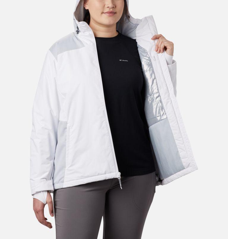 Tipton Peak™ Insulated Jacket | 100 | 1X Women's Tipton Peak™ Insulated Jacket - Plus Size, White, Cirrus Grey, a5