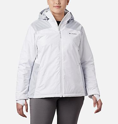 Women's Tipton Peak™ Insulated Jacket - Plus Size Tipton Peak™ Insulated Jacket   671   1X, White, Cirrus Grey, front