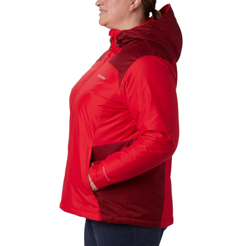 Tipton Peak™ Insulated Jacket | 658 | 3X Women's Tipton Peak™ Insulated Jacket - Plus Size, Red Lily, Beet, a1