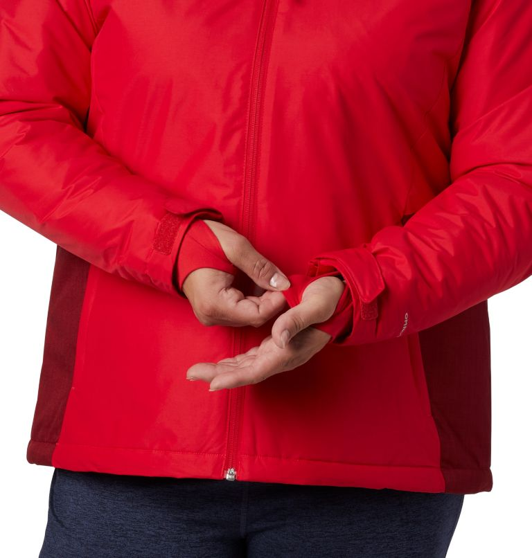Tipton Peak™ Insulated Jacket | 658 | 3X Women's Tipton Peak™ Insulated Jacket - Plus Size, Red Lily, Beet, a4