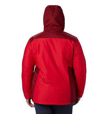 Women's Tipton Peak™ Insulated Jacket - Plus Size Tipton Peak™ Insulated Jacket   671   1X, Red Lily, Beet, back