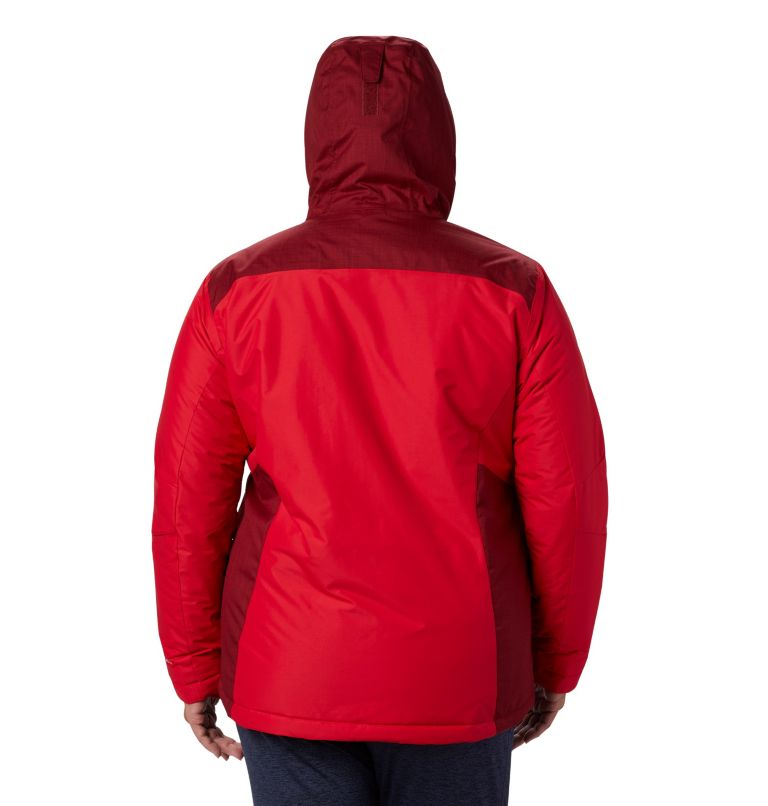 Tipton Peak™ Insulated Jacket | 658 | 3X Women's Tipton Peak™ Insulated Jacket - Plus Size, Red Lily, Beet, back