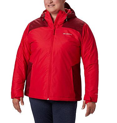 Women's Tipton Peak™ Insulated Jacket - Plus Size Tipton Peak™ Insulated Jacket   671   1X, Red Lily, Beet, front