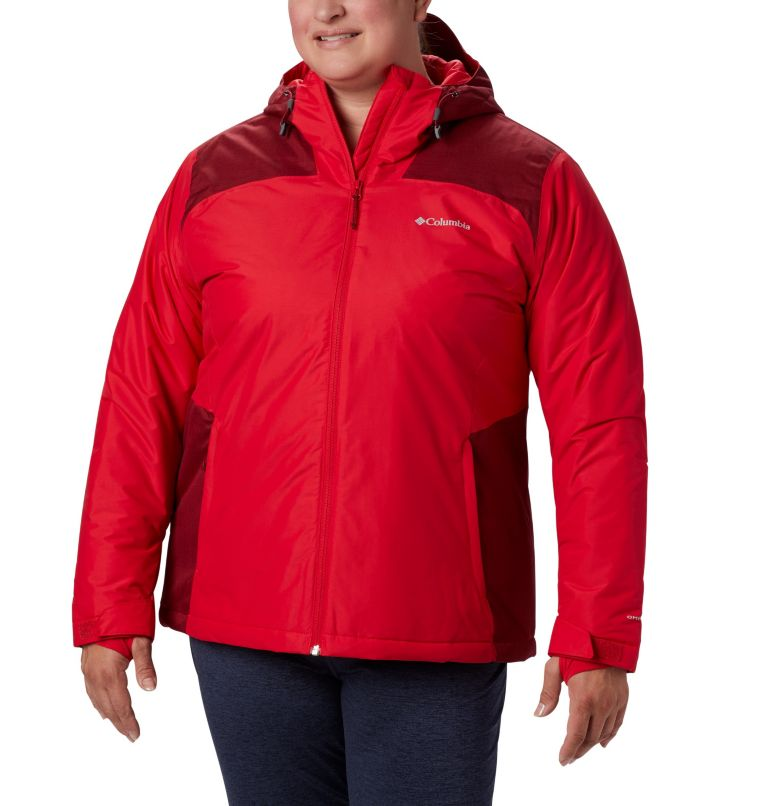 Tipton Peak™ Insulated Jacket | 658 | 3X Women's Tipton Peak™ Insulated Jacket - Plus Size, Red Lily, Beet, front