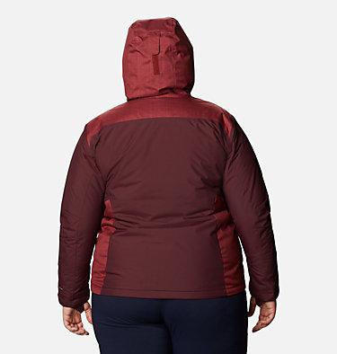 Women's Tipton Peak™ Insulated Jacket - Plus Size Tipton Peak™ Insulated Jacket   671   1X, Malbec, Marsala Red, back