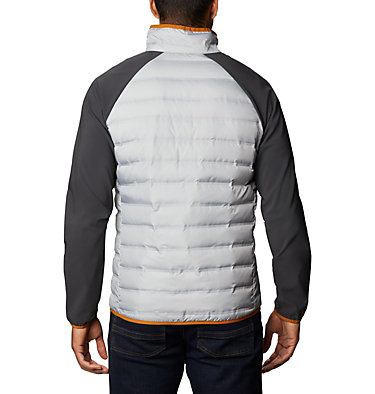 Lake 22™ Hybrid Down Jacket Lake 22™ Hybrid Down Jacket | 039 | XL, Columbia Grey, Shark, back