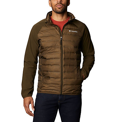 Lake 22™ Hybrid Down Jacket Lake 22™ Hybrid Down Jacket | 039 | XL, Olive Green Heather, Olive Green, front