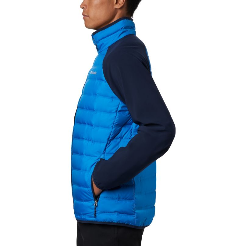 Lake 22™ Hybrid Down Jacket | 463 | M Men's Lake 22 Hybrid Down Jacket, Azure Blue, Collegiate Navy, a1