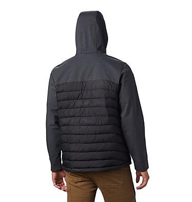 Powder Lite™ Hybrid Jacket Powder Lite™ Hybrid Jacket | 463 | L, Black, Black Heather, back