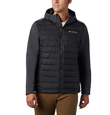 Powder Lite™ Hybrid Jacket Powder Lite™ Hybrid Jacket | 463 | L, Black, Black Heather, front