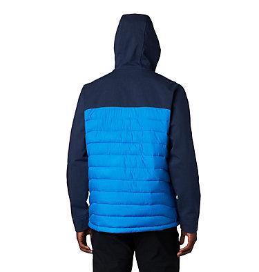 Powder Lite™ Hybrid Jacket Powder Lite™ Hybrid Jacket | 463 | L, Azure Blue, Collegiate Navy Heather, back