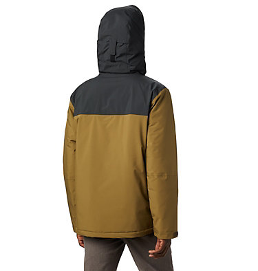 Men's Horizon Explorer Insulated Jacket Horizon Explorer™ Insulated Ja | 478 | XL, Olive Brown, Black, back