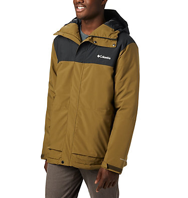 Men's Horizon Explorer Insulated Jacket Horizon Explorer™ Insulated Ja | 478 | XL, Olive Brown, Black, front