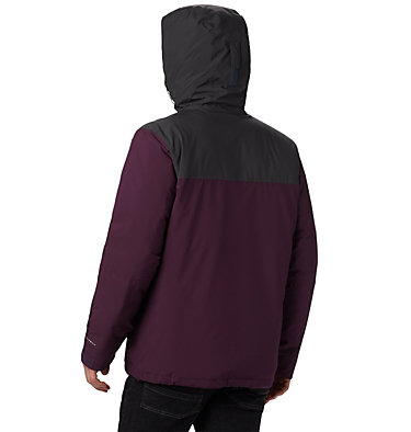 Men's Horizon Explorer Insulated Jacket Horizon Explorer™ Insulated Ja | 478 | XL, Black Cherry, Shark, back
