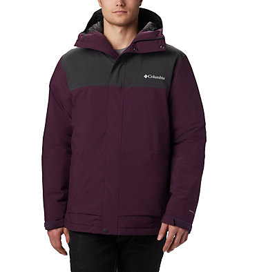 Men's Horizon Explorer Insulated Jacket Horizon Explorer™ Insulated Ja | 478 | XL, Black Cherry, Shark, front